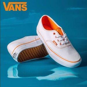 Vans Shoes   Vans White Orange Sneaker